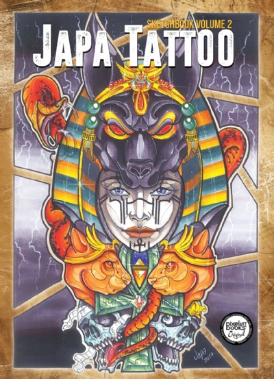 Sketchbook Japa Tattoo