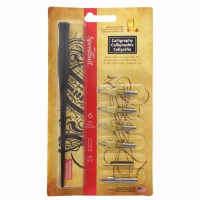 Kit Para Caligrafia Speedball Calligraphy