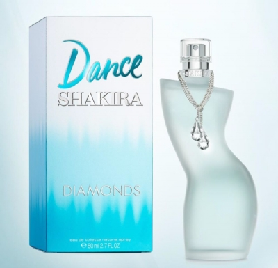 Dance Diamonds Shakira Eau de Toilette - Perfume Feminino 80ml
