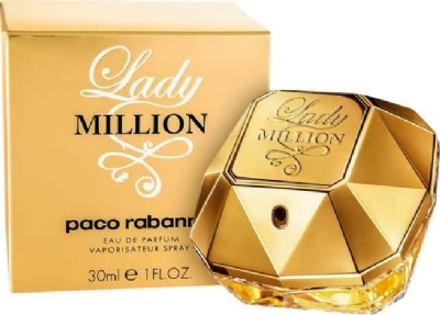 Lady Million Feminino - Parfum - 80ml