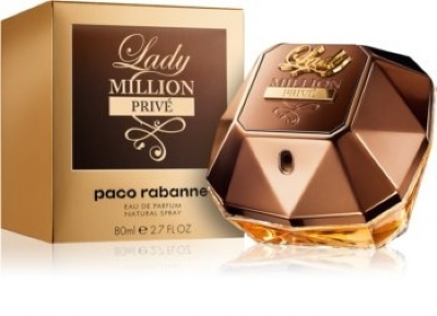Lady Million Prive Feminino Eau de Parfum - 80ml
